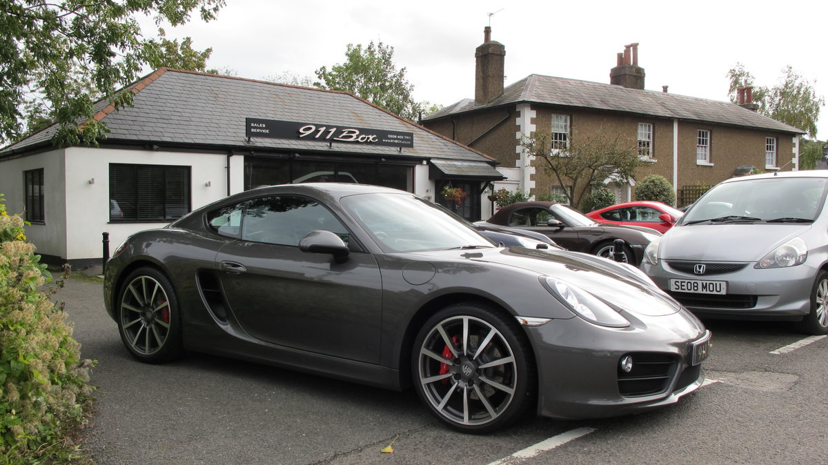 2013 PORSCHE CAYMAN 3.4S (981) PDK SPORTS EXHAUST SAT-NAV For Sale (picture 1 of 6)