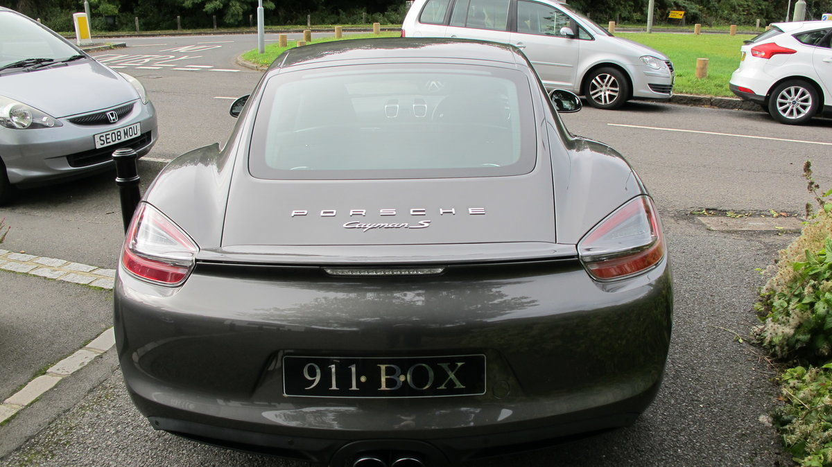 2013 PORSCHE CAYMAN 3.4S (981) PDK SPORTS EXHAUST SAT-NAV For Sale (picture 6 of 6)