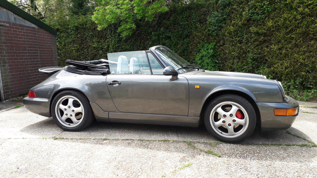 1991 Porsche 964 Convertible For Sale (picture 3 of 6)