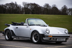 1988 Porsche 911 turbo cab 930 manual - stunning For Sale