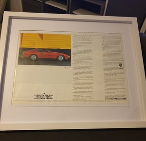 1985 Porsche 924S Advert Original  For Sale