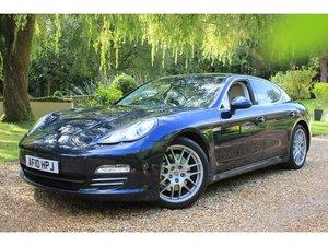 2010 Porsche Panamera 4.8 V8 4S AWD 5dr BOSE, CHRONO, ACTIVE DAMP