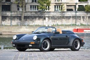 1989 Porsche 911 Speedster 3.2L Turbo Look        For Sale by Auction