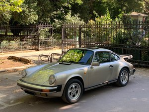 1986 Porsche 911 Carrera 3,2L          For Sale by Auction
