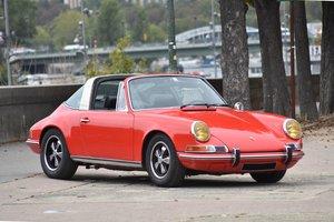 1970 Porsche 911 2.2L S Targa      For Sale by Auction