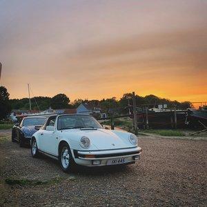 1980 Porsche 911 SC Sport Targa Grand Prix White