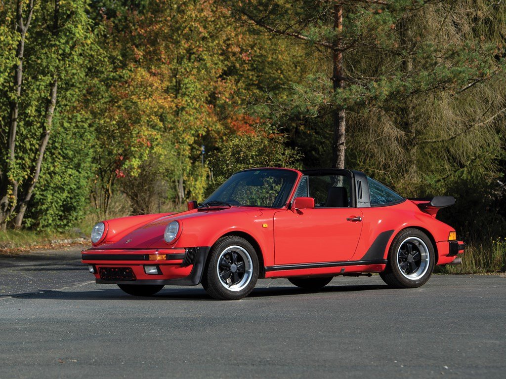 1989 Porsche 911 Turbo 3.3 Targa  For Sale by Auction (picture 1 of 6)