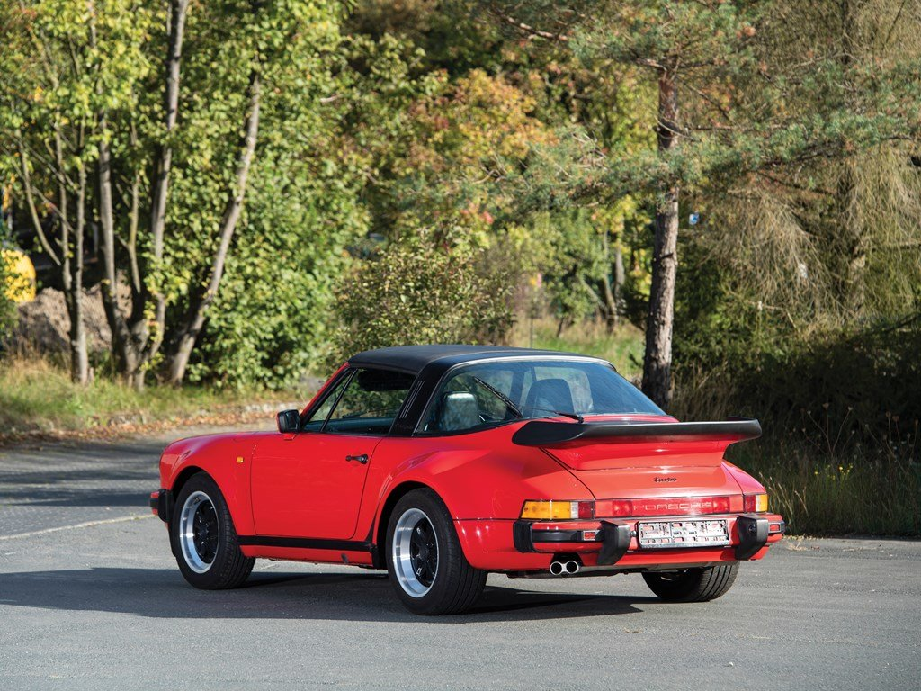 1989 Porsche 911 Turbo 3.3 Targa  For Sale by Auction (picture 2 of 6)