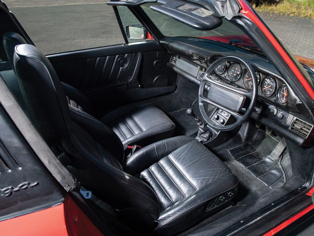 1989 Porsche 911 Turbo 3.3 Targa  For Sale by Auction (picture 4 of 6)