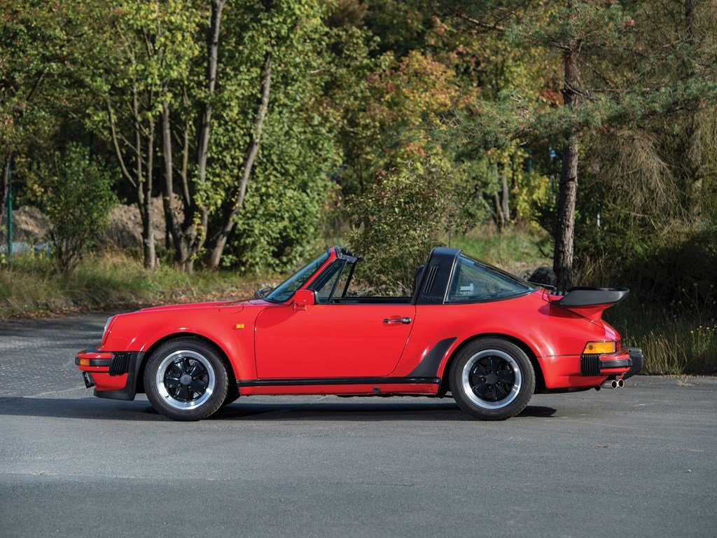 1989 Porsche 911 Turbo 3.3 Targa  For Sale by Auction (picture 5 of 6)