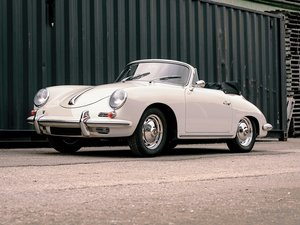 1961 Porsche 356 B Super 90 Cabriolet by Reutter For Sale by Auction