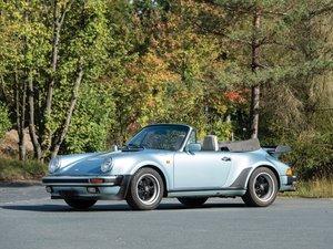 1988 Porsche 911 Turbo 3.3 Cabriolet  For Sale by Auction