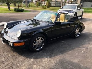1990 Porsche 911 Carrera 4 Cabriolet For Sale