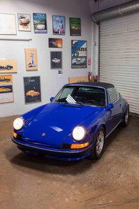1973 Porsche 911 T (MFI) Targa Restored Correct Blue $81.9k