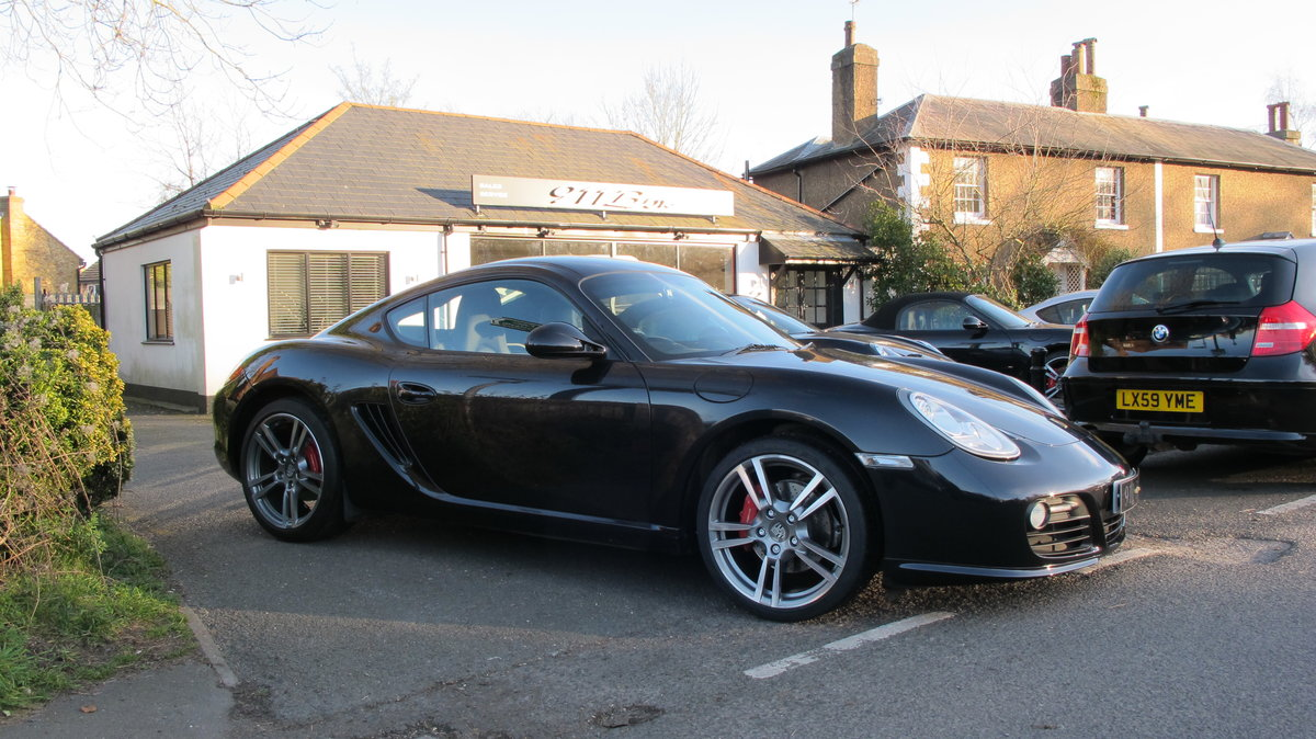 2010 Porsche Cayman (987) 3.4S Gen2 PDK Sat-Nav Sports Chrono + For Sale (picture 1 of 6)