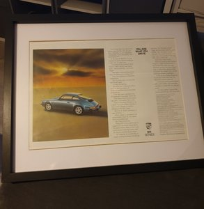1985 Original Porsche 911 Advert