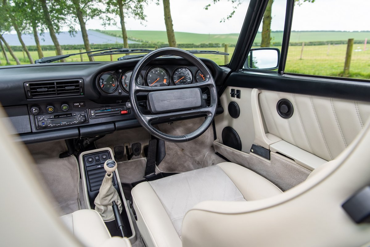 1989 Porsche 911 3.2 Carrera Targa For Sale (picture 6 of 6)