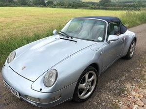 1994 Porsche 911-993 Air Cooled Cabriolet