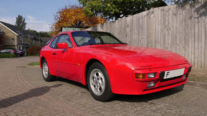 1988 Porsche 944 Coupe  one owner and 5,063 miles from new