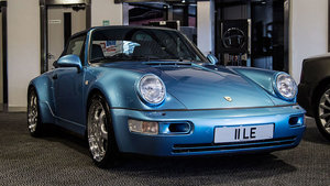 1993 Porsche 964 C15 Widebody Cabriolet For Sale by Auction