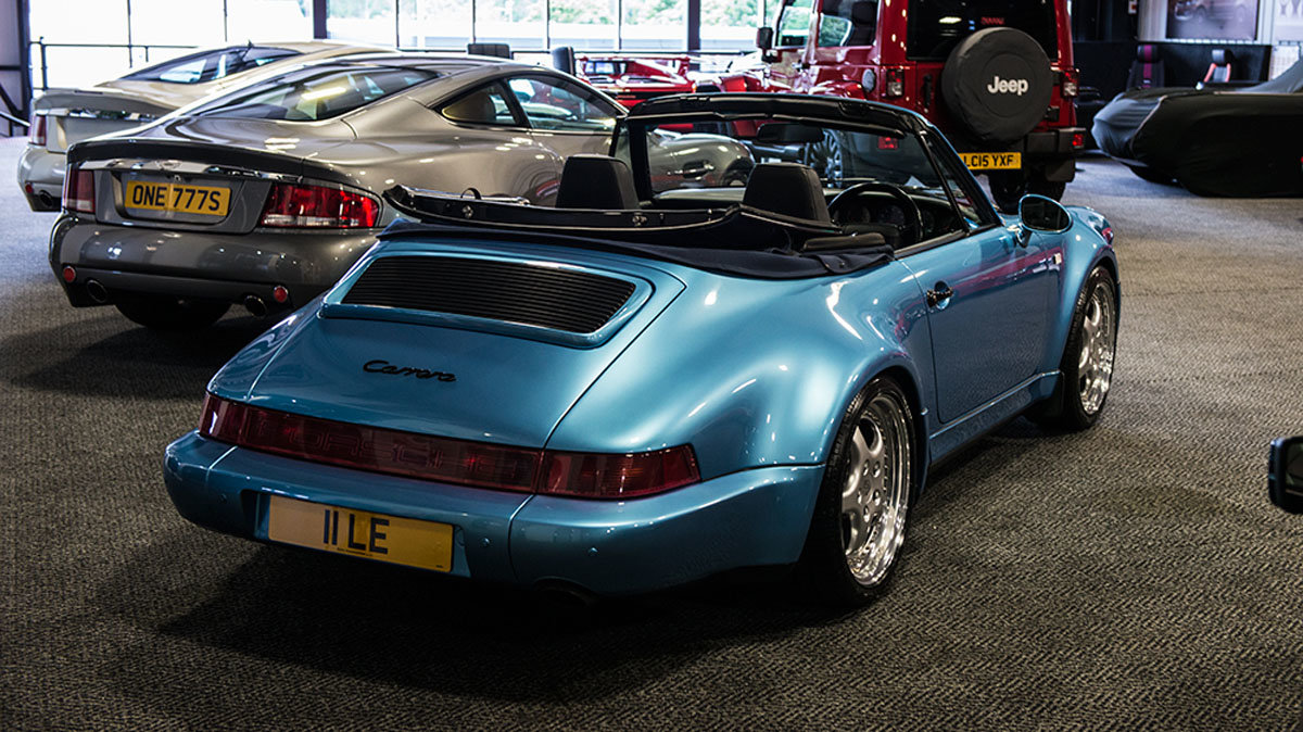 1993 Porsche 964 C15 Widebody Cabriolet For Sale by Auction (picture 2 of 4)