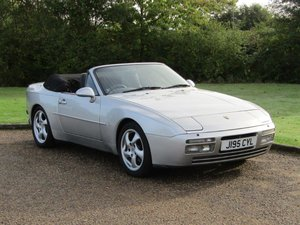 1991 Porsche 944 S2 Cabriolet at ACA 2nd November