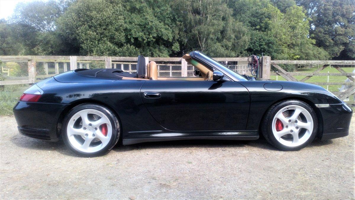 2004 Porsche 911 (996) Carrera 4S Convertible For Sale (picture 3 of 6)