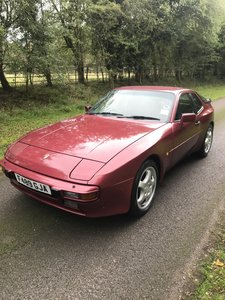 1989 Porsche 944 manual, genuine and original car