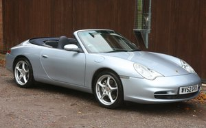 2002 PORSCHE 911 Carrera 4 Cabriolet manual 33000miles For Sale