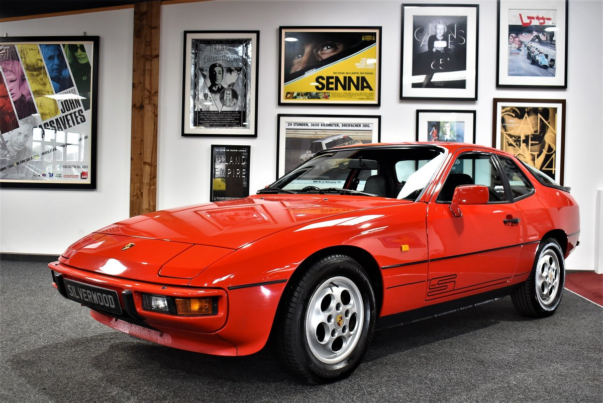 1987 Porsche 924 'S' Full History With A/C For Sale (picture 1 of 6)