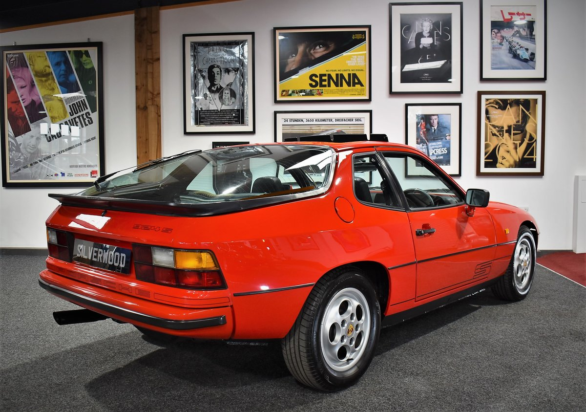1987 Porsche 924 'S' Full History With A/C For Sale (picture 6 of 6)