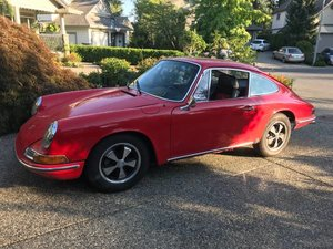 1966 Porsche 912 Coupe clean Red driver $25K spent on $45k