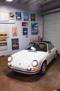 1971 Porsche 911 S Targa clean Restored Ivory Cali car$179.9