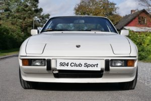 1987 924S Club Sport (UK Papers)