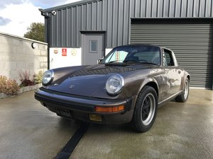 1984 Porsche 911 Carrera Targa LHD (project)