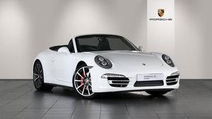 2014 Porsche 911 Carrera 4S Cabriolet For Sale
