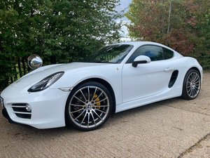 2013 PORSCHE CAYMAN 981 2.7 24V 2D 275 BHP MANUAL (LOW MILEAGE