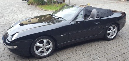 968 6 spd man. RHD orig. UK spec, new softtop, etc