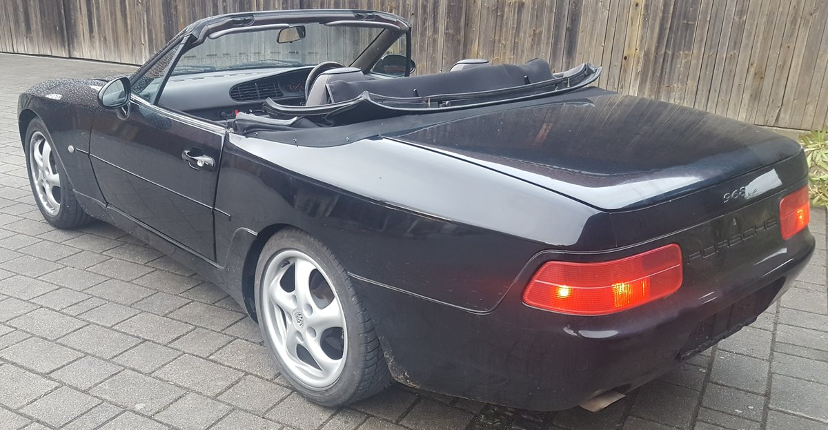 1993 968 6 spd man. RHD orig. UK spec, new softtop, etc For Sale (picture 4 of 5)