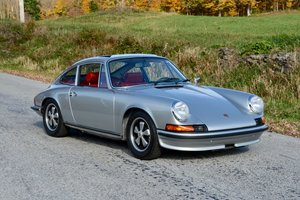 1973 Porsche 911 S 2.4 Sun Roof Coupe Rare AC Sport Seats  For Sale