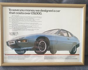 1980 Original Porsche 924 Advert