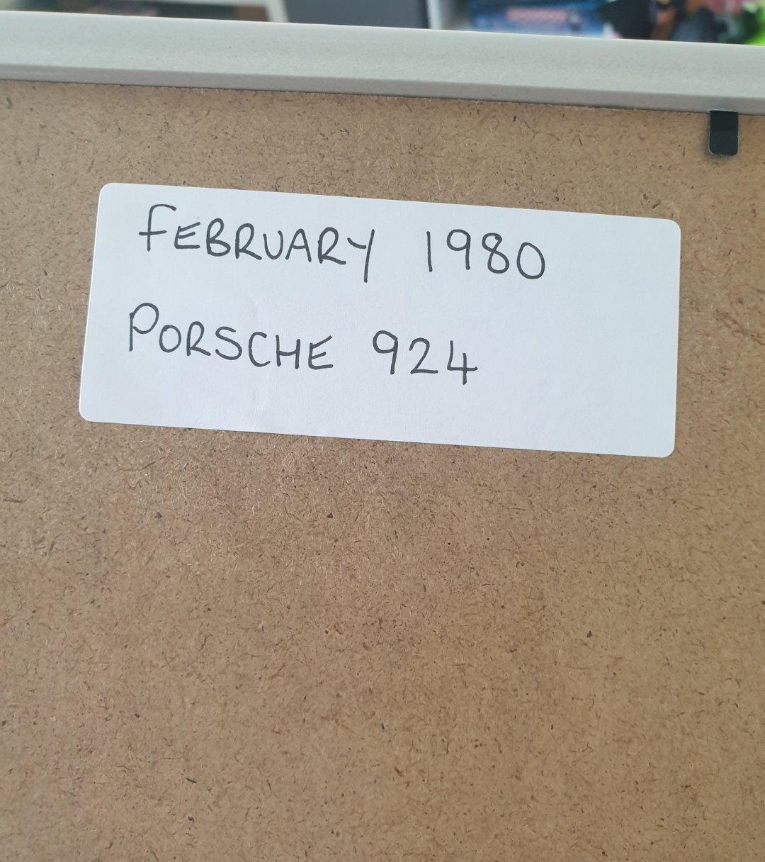 1980 Original Porsche 924 Advert For Sale (picture 2 of 2)