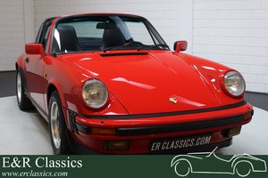 Porsche 911 3.2 Targa 1985 Blue leather interior For Sale