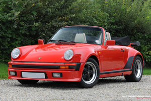 1988 Porsche 911 Carrera 3.2 Supersport (M491) cabriolet For Sale