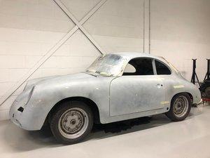 1962 Porsche 356B T6 1600 Super 75 Coupé - Project