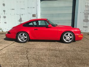 1991 Porsche 964 Carrera 2 manual Coupe.