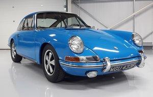 1968 Porsche 911 SWB Euro mkt, original, matching
