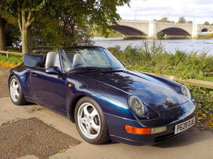 1997 Porsche 911 (993) Carrera 2 Cabriolet - Manual SOLD