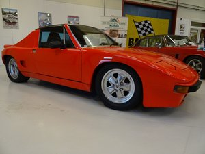 1973 Porsche 914 - V8 and a 5-speed manual transmission