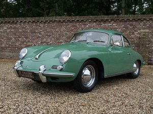 1960 Porsche 356B T5 1600 Reutter matching numbers, factory sunro
